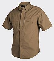 Рубашка тактическая Helikon-Tex® Defender SSl - Койот