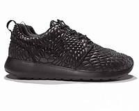 Кроссовки Nike Roshe Run Diamondback Triple Black 40