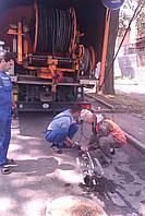 Прочистка ливневой канализационной сети гидродинамическим способом