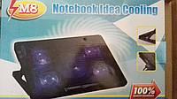 Охлаждающая подставка под ноутбук Notebook Idea Cooling M8 (кулер с 5 вентиляторами), фото 1