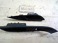Ручка двери передняя и задняя правая внутренняя для Mazda 6, 2004 г.в. GJ6A684L1, GJ6A685L1