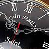 Часы настенные в виде штурвала корабля, фото 2
