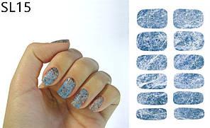 Наклейка водна для дизайну нігтів К5731С