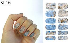 Наклейка водна для дизайну нігтів К5732С