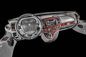 Накладки на панель Renault Trafic (2001-2007) Великий комплект