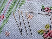 Игла для вышивки крестом № 26