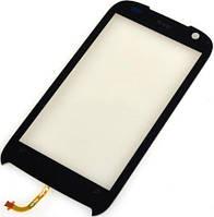 Сенсор (тач скрин) HTC T7373 Touch Pro 2 black (оригинал)