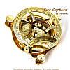 Часы солнечные магнитный компас NI234, фото 3
