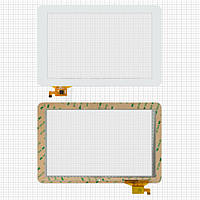 Сенсорный экран (touchscreen) для Ritmix RMD-1027, 12 pin, белый, оригинал