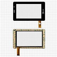 Touchscreen (сенсорный экран) для Ritmix RMD-740, 30 pin, оригинал (черный)