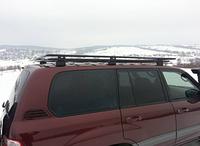 Багажник на крышу для Toyota Land Cruiser 100 1998-2008 (LC100, HDJ100, J10, LC105) с сеткой