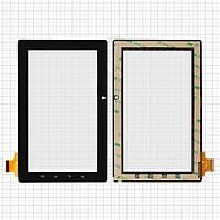 Touchscreen (сенсорный экран) для Freelander PD10 / PD20, 30 pin, оригинал, черный
