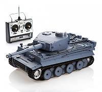 Танк р/у 1:16 Heng Long Tiger I с пневмопушкой и дымом