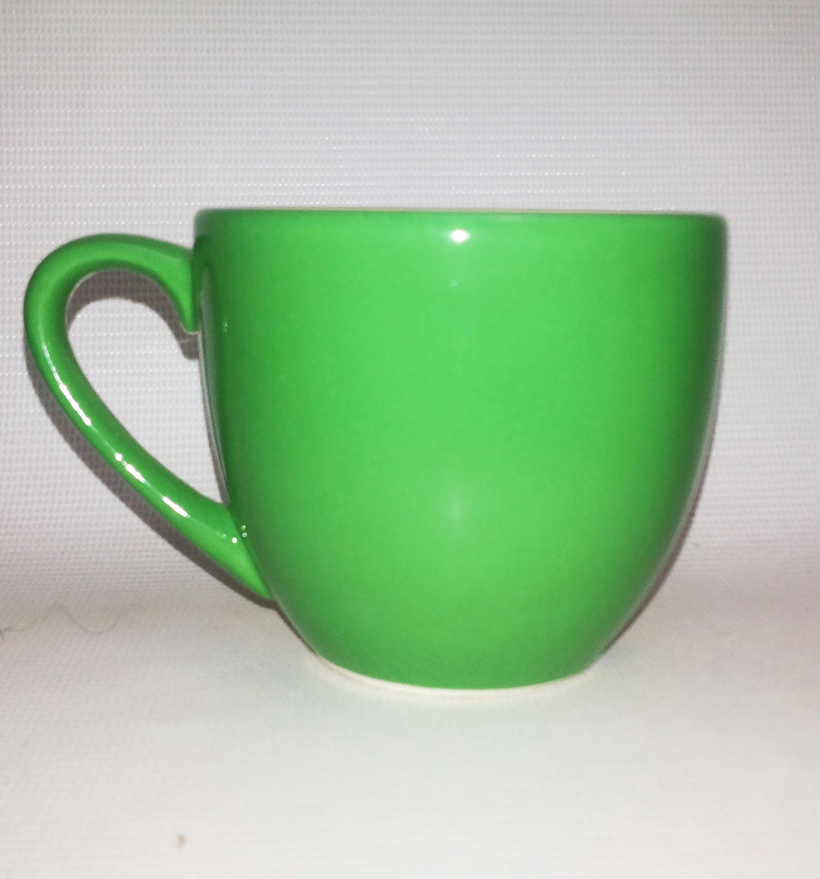 Кружка детская цветная глазурь - зеленаая 250 мл.