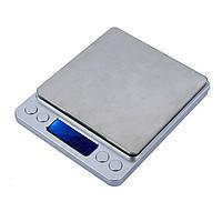 Ювелирные электронные весы с 2мя чашами 0,1 2000 гр