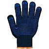 Перчатки рабочие трикотажные с ПВХ точкой (7 нити)
