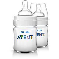 AVENT Бутылочка для кормления Classic+ 125мл, 2шт. SCF560/27