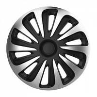 Колпаки Argo Caliber Carbon silver&black R13
