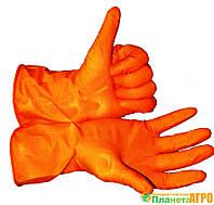 Перчатки резиновые L
