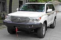 Передний бампер Starworks для Toyota Land Cruiser LC200 без кенгурятника