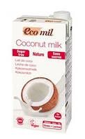 Молоко кокосовое без сахара,  ТМ EcoMil, 1 л
