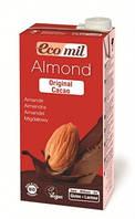 Молоко миндальное с сиропом агавы и какао, ТМ EcoMil, 1 л