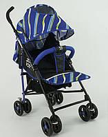Коляска прогулочная JOY S 608 2 BLUE, фото 1