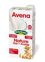Молоко овсяное без сахара, ТМ NaturGreen, 1 л