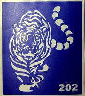 Трафарет для био-тату 6х7 (№202-1)