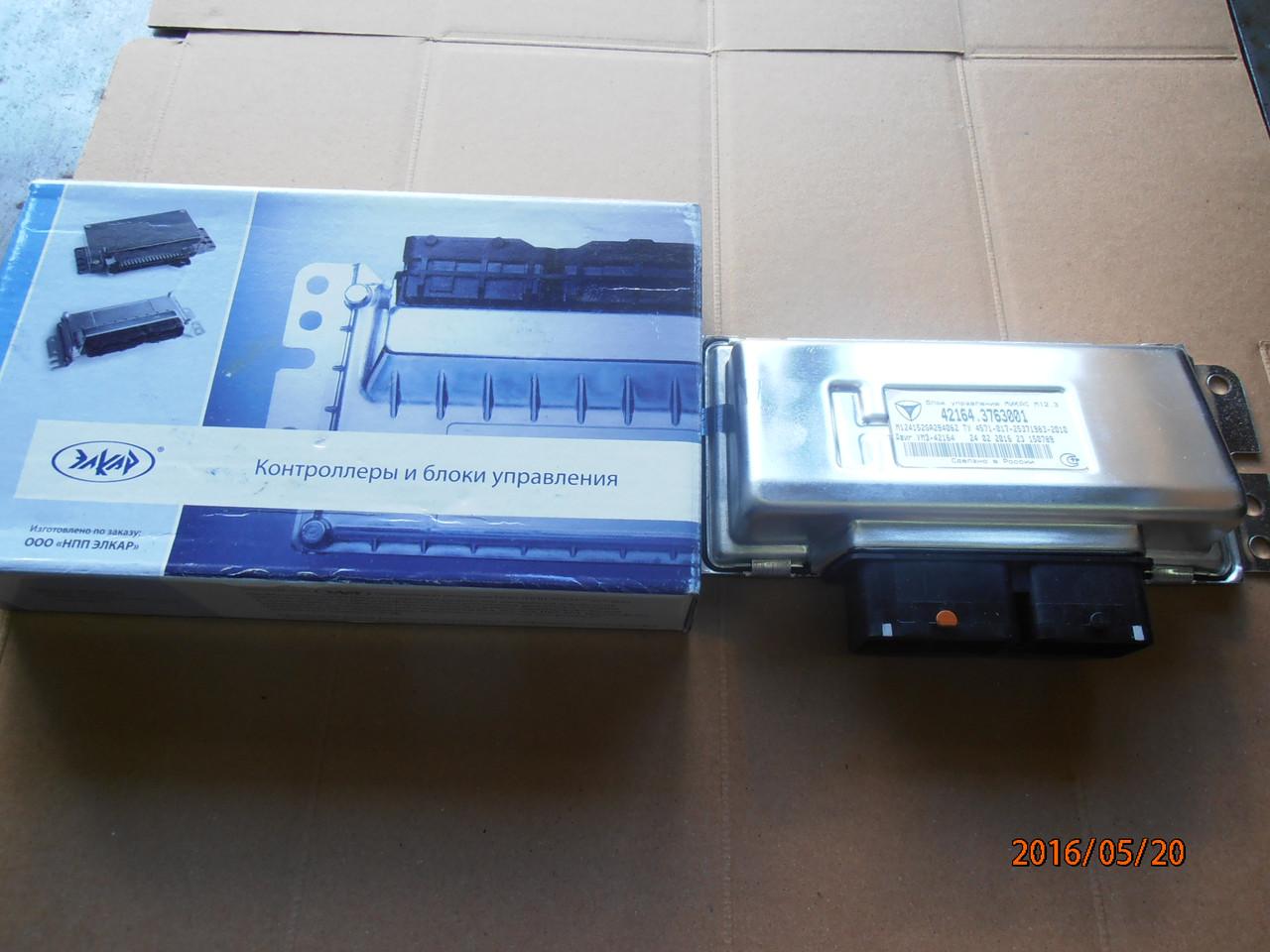 Блок управления двигателя УАЗ-Патриот М12.3