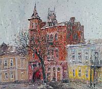 «Киев, замок Барона»  картина маслом