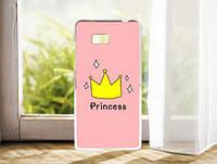 Силиконовый чехол накладка для HTC Desire 600 с картинкой принцесса