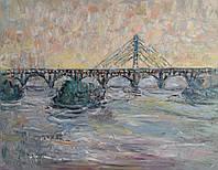 «Мост 1»  картина маслом