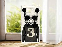 Силиконовый чехол накладка для HTC Desire 600 с картинкой панда