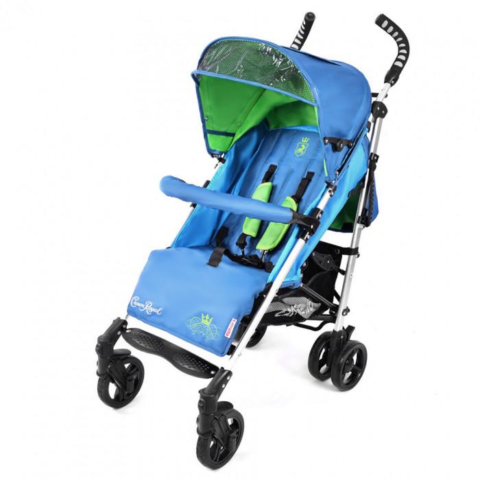 Коляска прогулочная CARRELLO Crown Royal CRL-7302 Blue