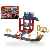 """Детский гараж """"Тачки"""" на 3 уровня, 3 машинки, Metr+ P 1399 HN"""
