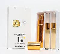Женский мини парфюм с феромонами Paco Rabanne Lady Million (Пако Рабанн Леди Миллион), 3*15 мл