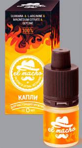 Возбуждающие капли El Macho (Ель Мачо)