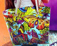 Сумка-раскраска Бабочки