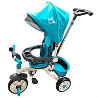 Велосипед триколісний DT 128 Блакитний