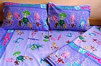 Полуторные детские комплекты постельного белья из ткани Ранфорс