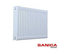 Стальной радиатор отопления Sanica 22 тип 500х700 (1350 Вт)