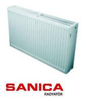 Стальной радиатор отопления Sanica 33 тип 500х700 (1928 Вт)