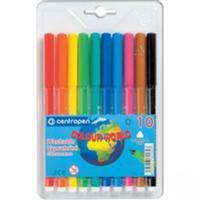 Фломастеры Centropen 10 цветов  Color World 7550/10