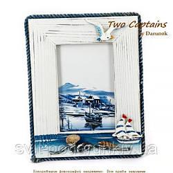 Рамка для фотографии в морском стиле B007 ABC