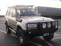 Пороги для Toyota Land Cruiser HDJ80