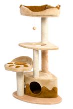 Дряпка-когтеточка для кошек Городок Угловой Природа ДБУ