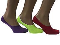 """Носки следы женские цветные  микрофибра """"Calze moda"""""""