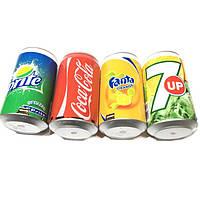 Портативная MP3 колонка от USB FM Fanta, Sprite, Pepsi, фото 1