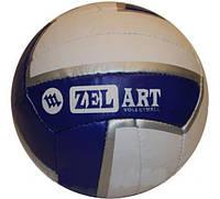 Мяч волейбол. ZEL VB-4047 (PVC, №5, 3 слоя, сшит вручную)